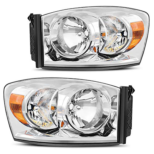 DWVO Headlight Assembly Compatible with 07-08...