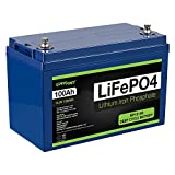 ExpertPower 12V 100Ah Lithium LiFePO4 Deep...