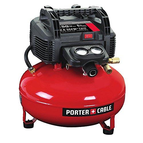 PORTER-CABLE Air Compressor, 6-Gallon,...