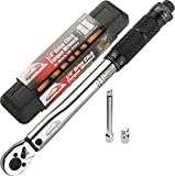 EPAuto 1/4-Inch Drive Click Torque Wrench...
