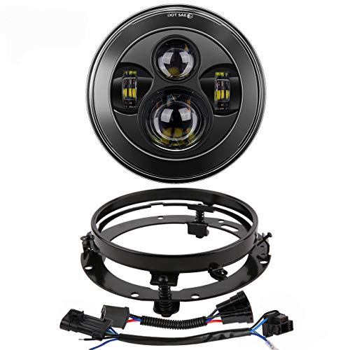 Z-OFFROAD New 7 inch LED Headlight High Low...