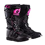 O'Neal Women's Rider Boots (Black/Pink, Size...