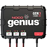 NOCO Genius GEN3, 3-Bank, 30-Amp (10-Amp Per...
