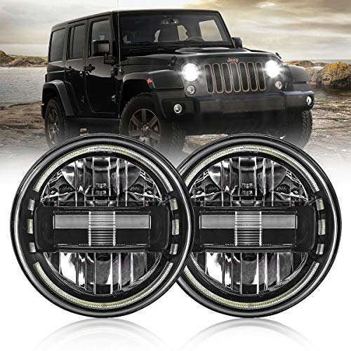 7 Inch Led Headlights DOT Approved Round...