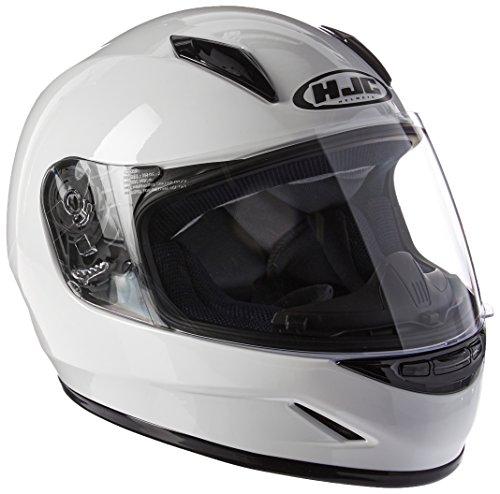 HJC Helmets CL-Y Youth Helmet (White, Medium)