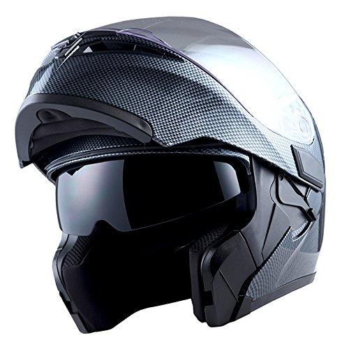 1Storm Motorcycle Modular Full Face Helmet...