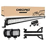 oEdRo LED Light Bar 52 Inch 758W 66430LM...