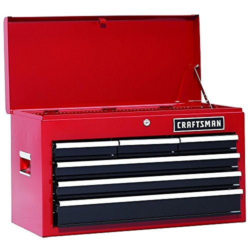 Craftsman 6 Drawer Heavy Duty Top Tool Chest,...