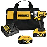 DEWALT 20V MAX Cordless Impact Wrench Kit...