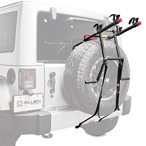 Allen Sports Deluxe 2-Bike Spare Tire Mounted...