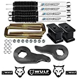WULF 1-3' Front 3' Rear Lift Kit for...