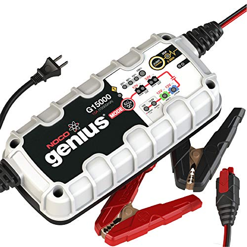 NOCO Genius G15000 12V/24V 15 Amp Pro-Series...