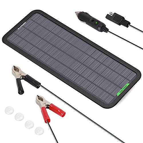 ALLPOWERS 18V 12V 5W Portable Solar Panel Car...