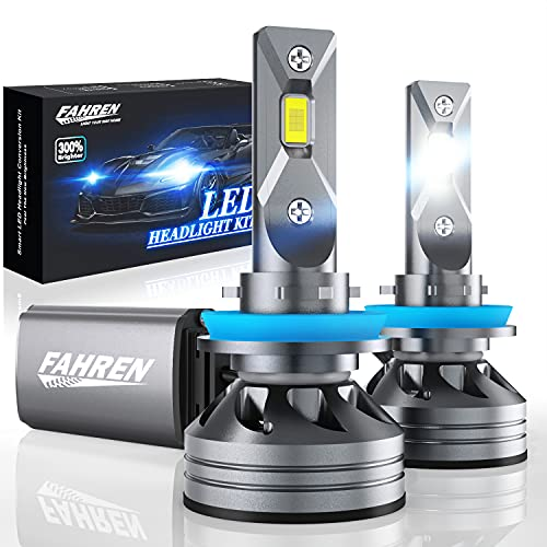 Fahren H11/H9/H8 LED Headlight Bulbs, 60W...