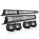 AutoFeel LED Light Bar Kit, OSRAM Chips 52...
