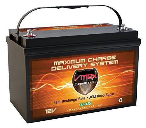 Vmaxtanks VMAXSLR125 AGM 12V 125Ah SLA...