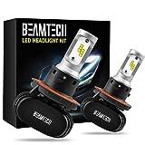 BEAMTECH H13 LED Headlight Bulb, 50W 6500K...