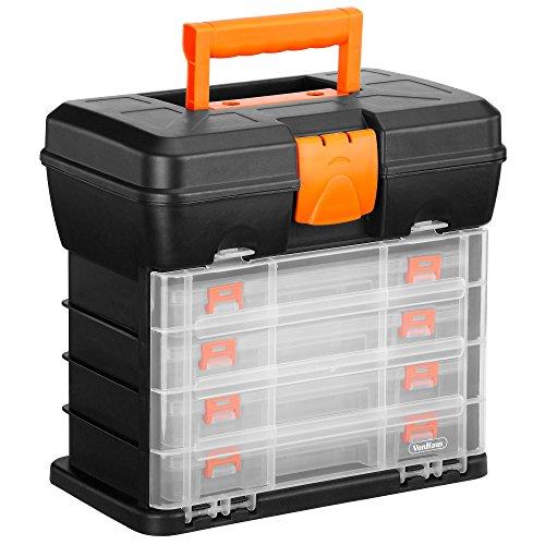 VonHaus Very Small Utility Tool Storage Box -...