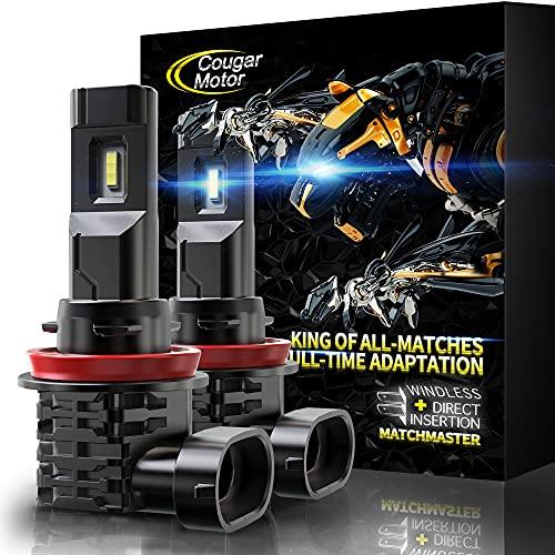 Cougar Motor H11   H8   H9 LED Bulb, 10000LM...