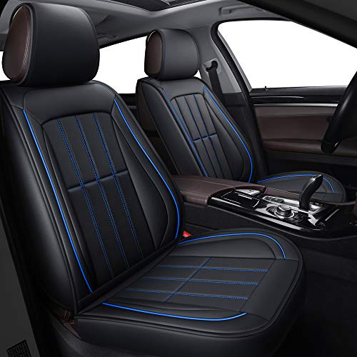 LUCKYMAN CLUB Leather Car Seat Covers fit...