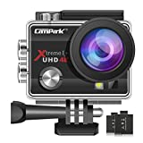 Campark ACT74 Action Camera 4K Ultra HD WiFi...