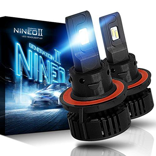 NINEO H13 LED Bulbs,12000LM 60W 9008 Lights...