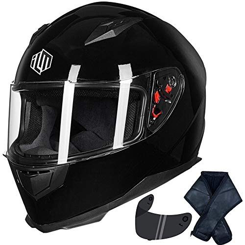 ILM Full Face Motorcycle Street Bike Helmet...