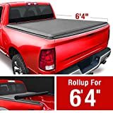 MaxMate Soft Roll Up Truck Bed Tonneau Cover...