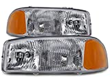 HEADLIGHTSDEPOT Halogen Headlights Compatible...