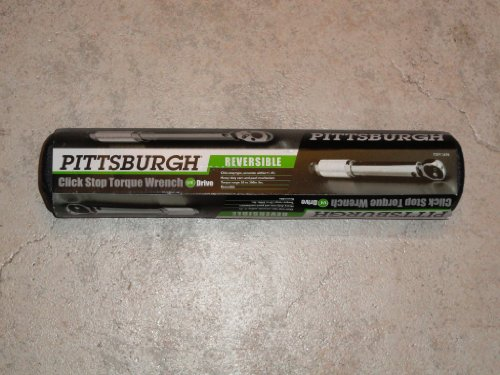 1/4' Drive Click Stop Torque Wrench...