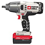 PORTER-CABLE 20V MAX Impact Wrench, 1/2-Inch...