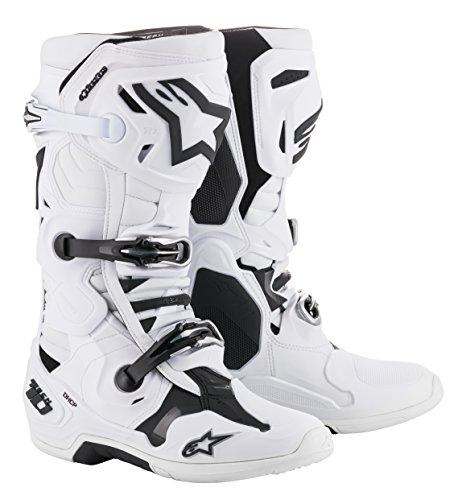 Alpinestars Unisex-Adult Tech 10 Boots White...
