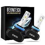 BEAMTECH H11 LED Headlight Bulb, 50W 6500K...