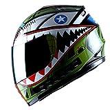 WOW Motorcycle Full Face Helmet Street Bike...