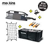 Mockins Hitch Mount Cargo Carrier with Cargo...