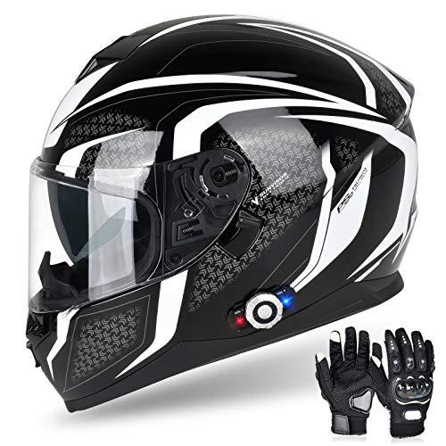 Bluetooth Motorcycle Helmet FreedConn BM12...