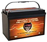 VMAX MR137-120 AGM Sealed Marine AGM Battery...