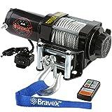 Bravex Electric 12V 3500lb/1591kg Single Line...