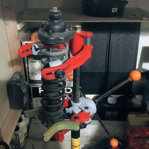 coil spring compressor manual /& hydraulic
