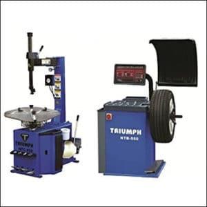 TRIUMPH NTC-950 Tire Changer & NTB-550 Wheel Balancer Combo review