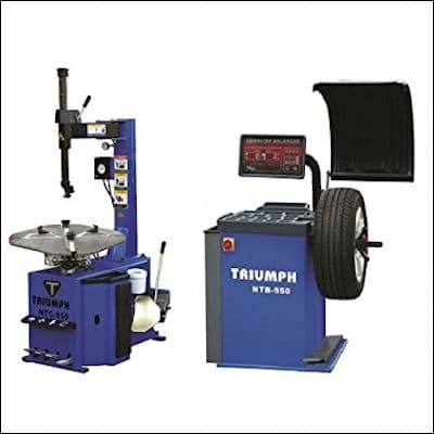 TRIUMPH NTC-950 Tire Changer & NTB-550 Wheel Balancer Combo review