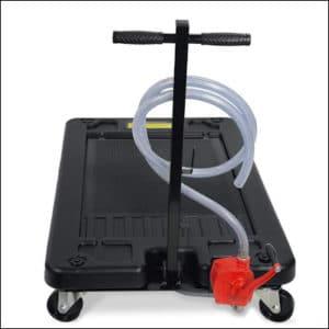 STKUSA 17 Gallon Portable Oil Drain Pan review