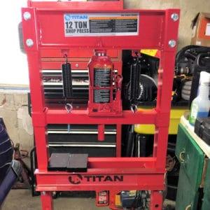 Hydraulic shop press reviews