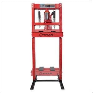 Titan 12-Ton Hydraulic Shop Floor Press review