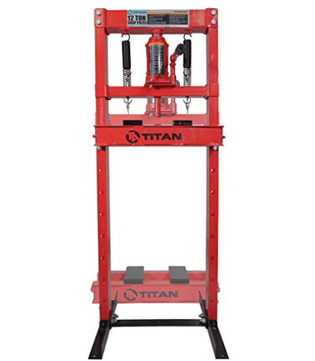 Titan 12 Ton Hydraulic Shop Floor Press review
