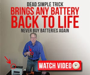 battery reconditioning at home