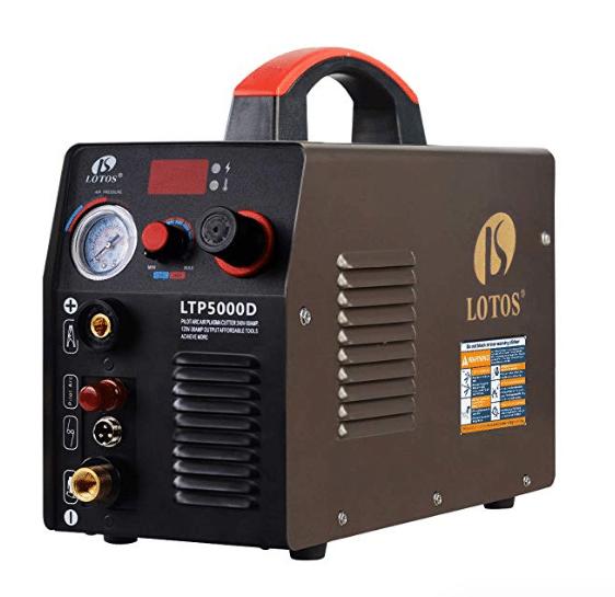 Lotos LTP5000D 50Amp Non-Touch Pilot Arc Plasma Cutter review