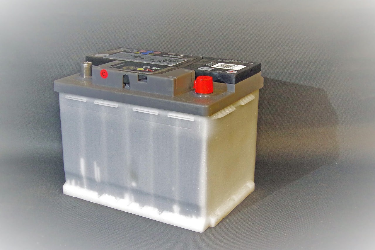 single car battery
