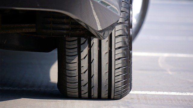 tyre with air