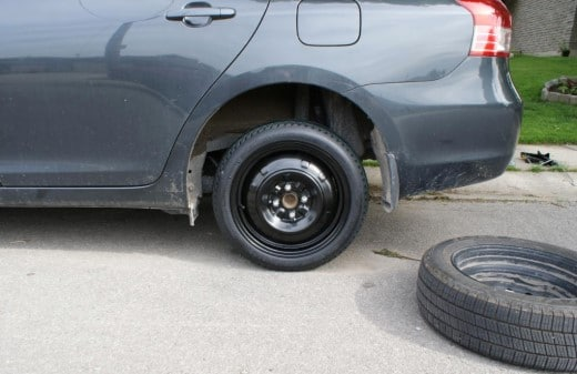 Safety Tips For Driving With A Spare Tire